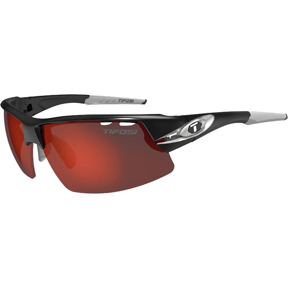 ティフォージ メンズ スポーツサングラス【Crit Interchangeable Sunglasses】Race Silver/Clarion Red/Ac Red/Clear