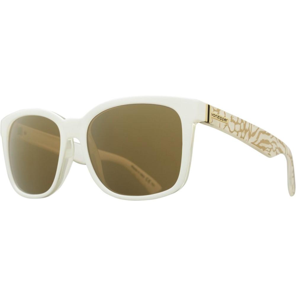 ボンジッパー レディース メガネ・サングラス【Howl Sunglasses】Party A2 - White