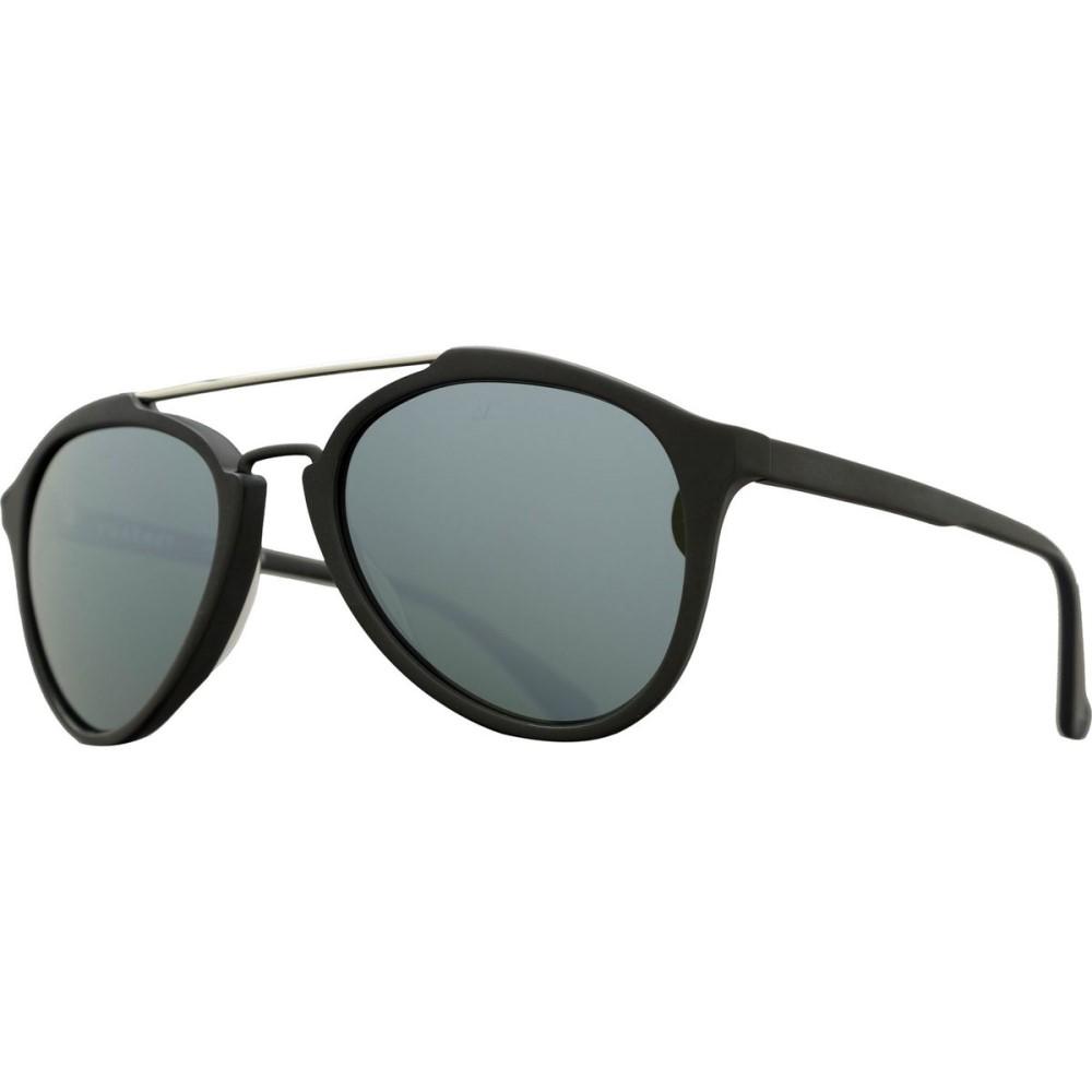 ヴュアルネ レディース メガネ・サングラス【Pilot Cable Car Sunglasses】Matte Black/Pure Grey Silver Flash