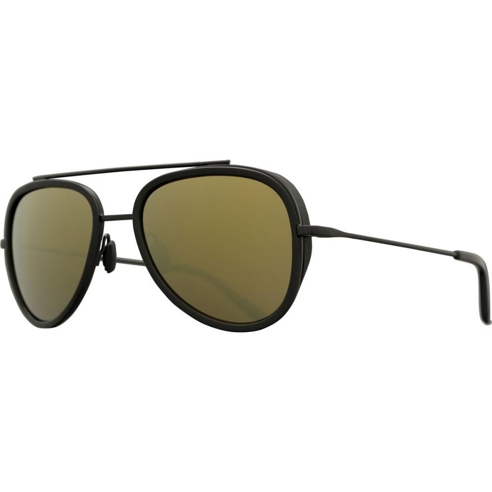 ヴュアルネ レディース メガネ・サングラス【Edge Pilot VL 1614 Sunglasses】Matte Black/Black/Pure Brown Bronze Flash