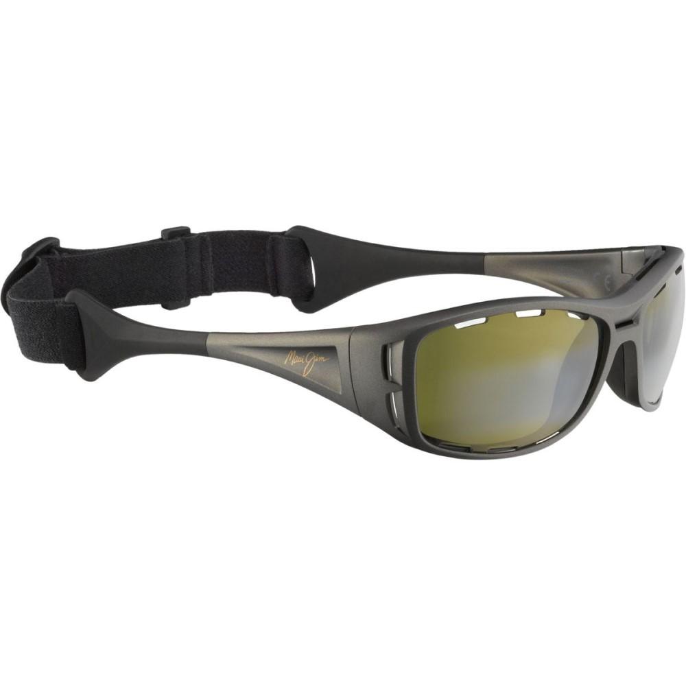マウイジム メンズ スポーツサングラス【Waterman Sunglasses - Polarized】Titanium/Maui Ht