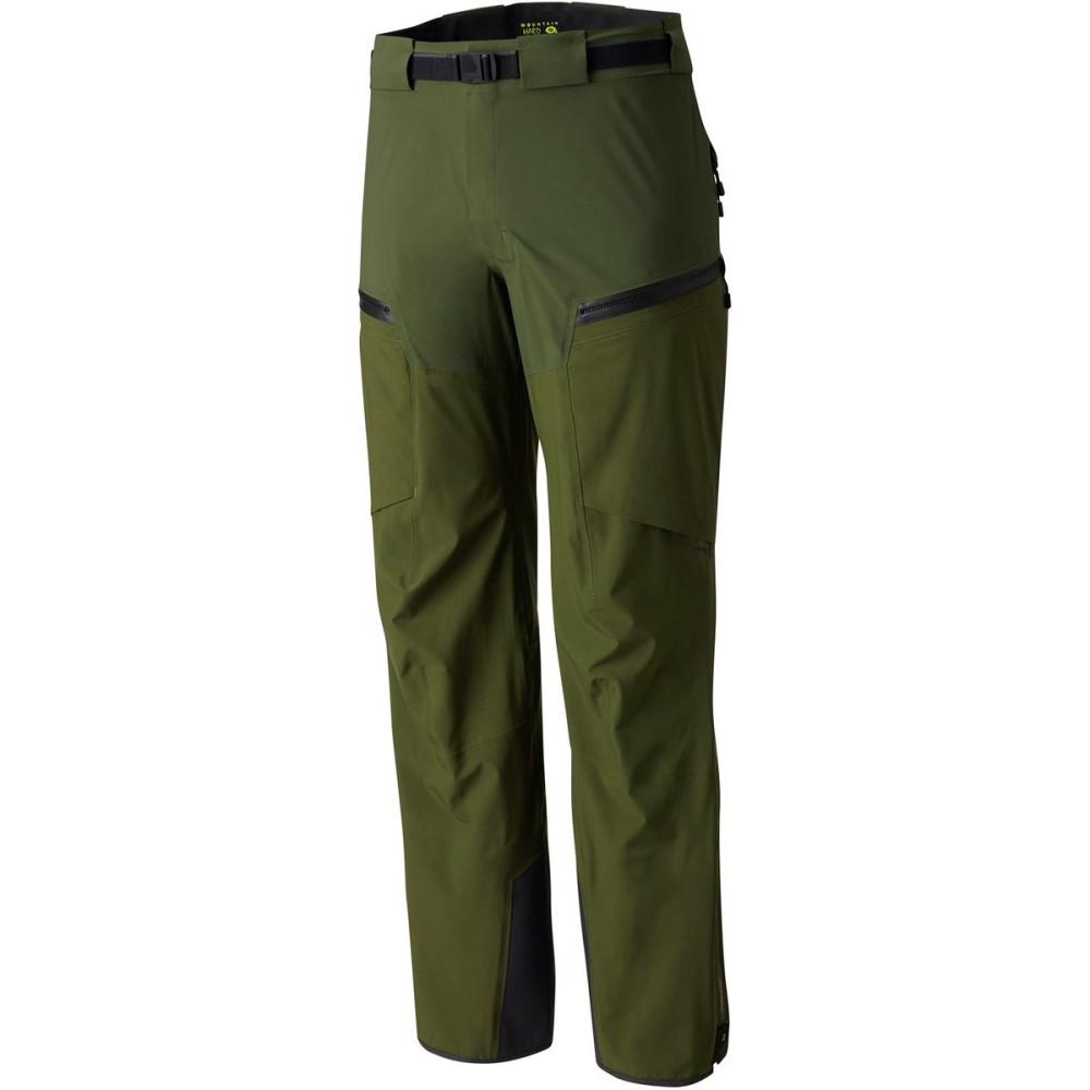 マウンテンハードウェア メンズ スキー・スノーボード ボトムス・パンツ【Cloudseeker Bib Pants】Surplus Green