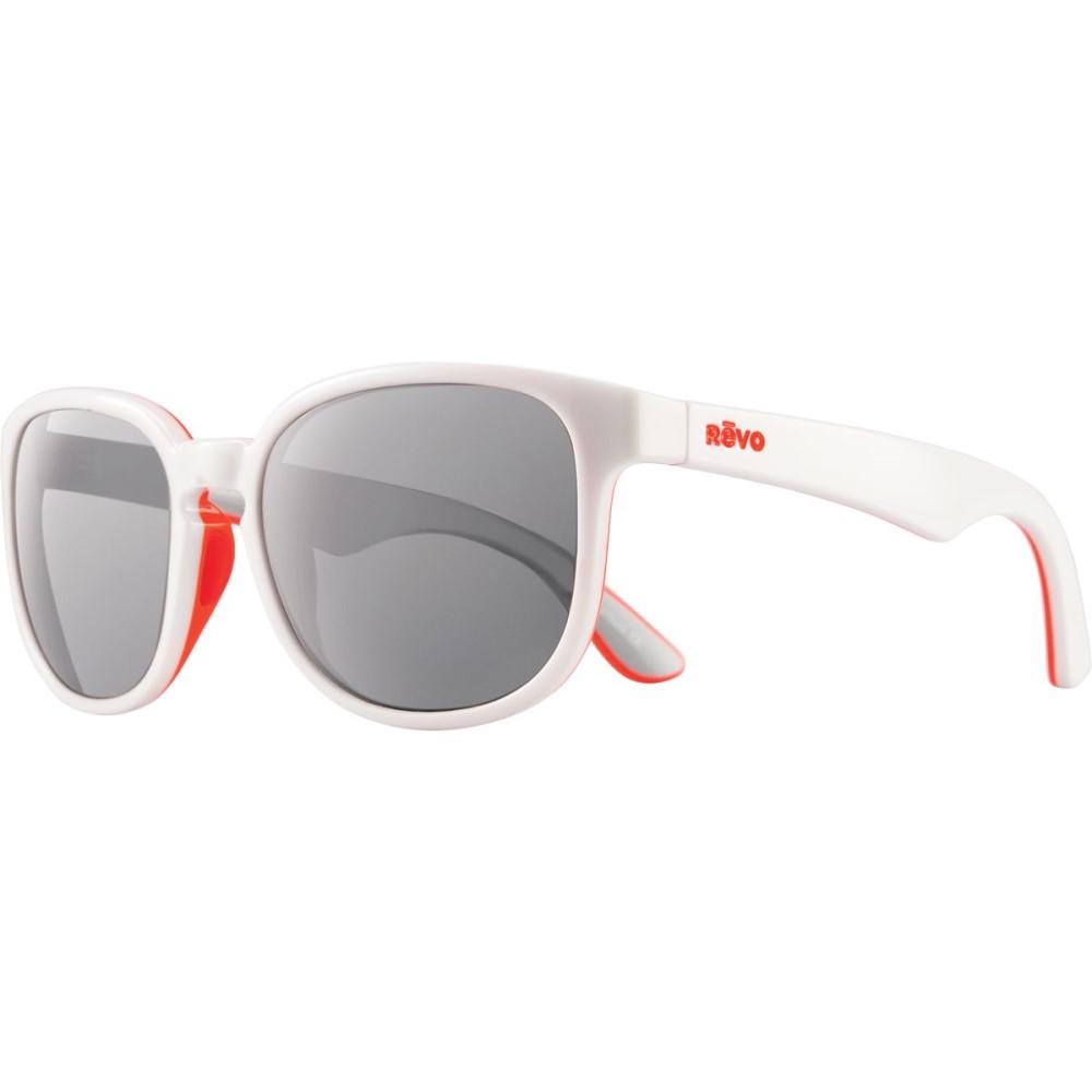 レヴォ レディース メガネ・サングラス【Kash Sunglasses - Polarized】White/Coral/Grey-Graphite