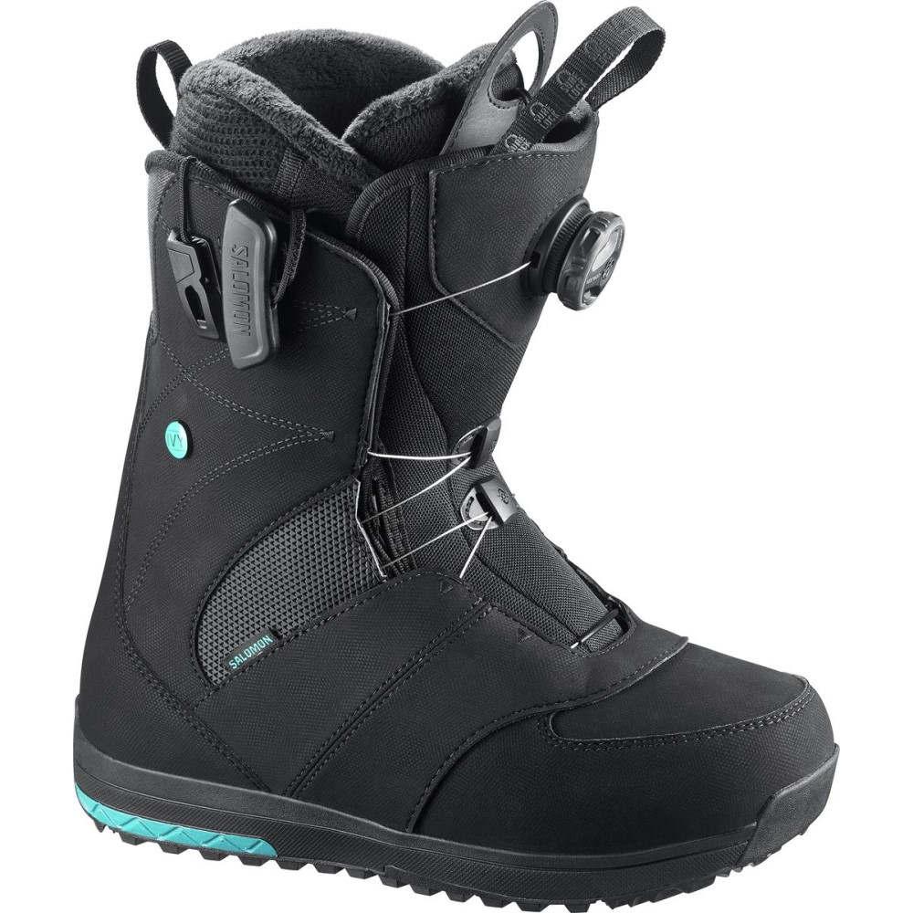 サロモン レディース スキー・スノーボード シューズ・靴【Ivy Boa Snowboard Boot】Black
