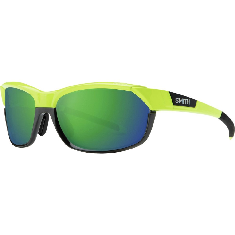 スミス レディース スポーツサングラス【Pivlock Over - Drive Chromapop Sunglasses】Acid/Sun Green Mirror
