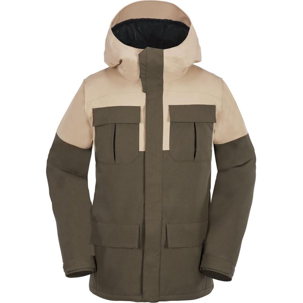 ボルコム メンズ スキー・スノーボード アウター【Alternate Insulated Hooded Jackets】Teak