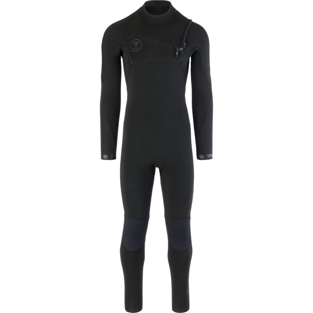 ヴィスラ メンズ 水着・ビーチウェア ウェットスーツ【The 7 Seas 4/3 Chest Zip Long - Sleeve Wetsuits】Stealth