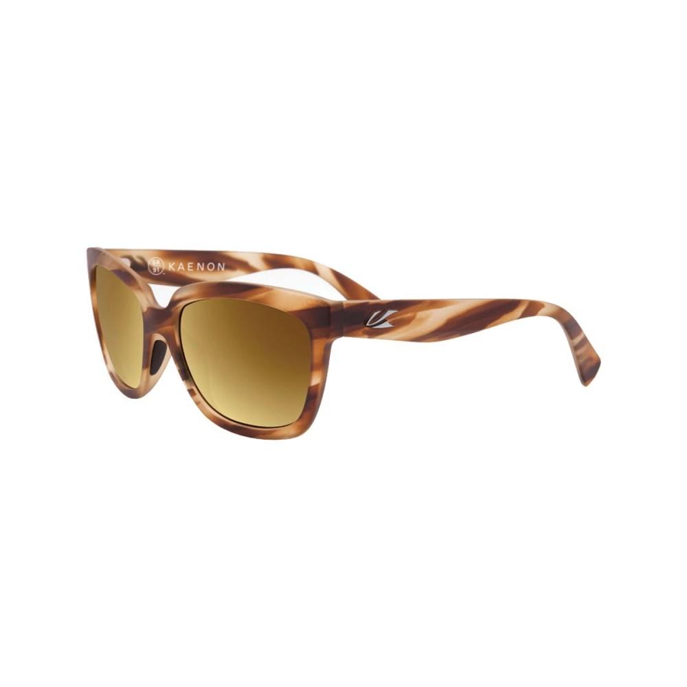 カエノン レディース メガネ・サングラス【Cali Sunglasses - Polarized】Driftwood/Brown 12