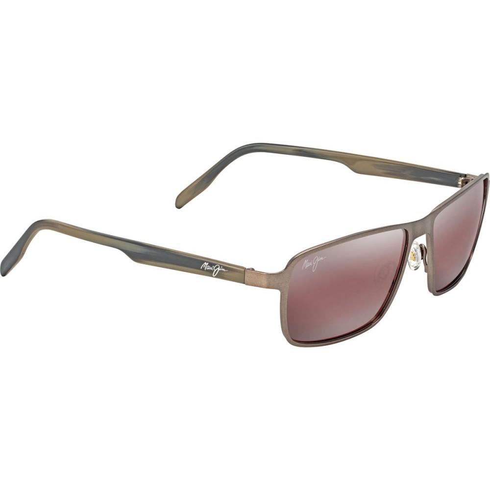 マウイジム メンズ メガネ・サングラス【Glass Beach Sunglasses - Polarized】Brushed Sand/Maui Rose