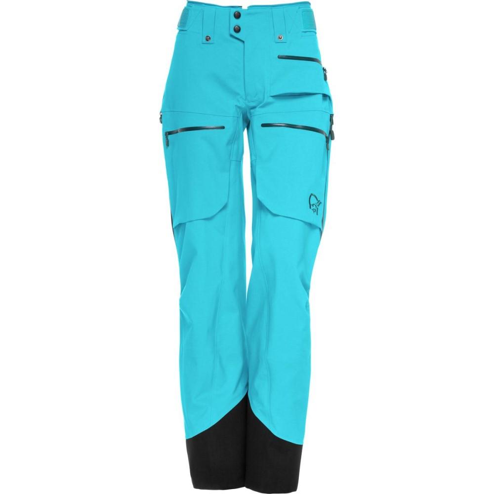 ノローナ レディース スキー・スノーボード ボトムス・パンツ【Lofoten Gore - Tex Pro Shell Pant】Caribbean Blue