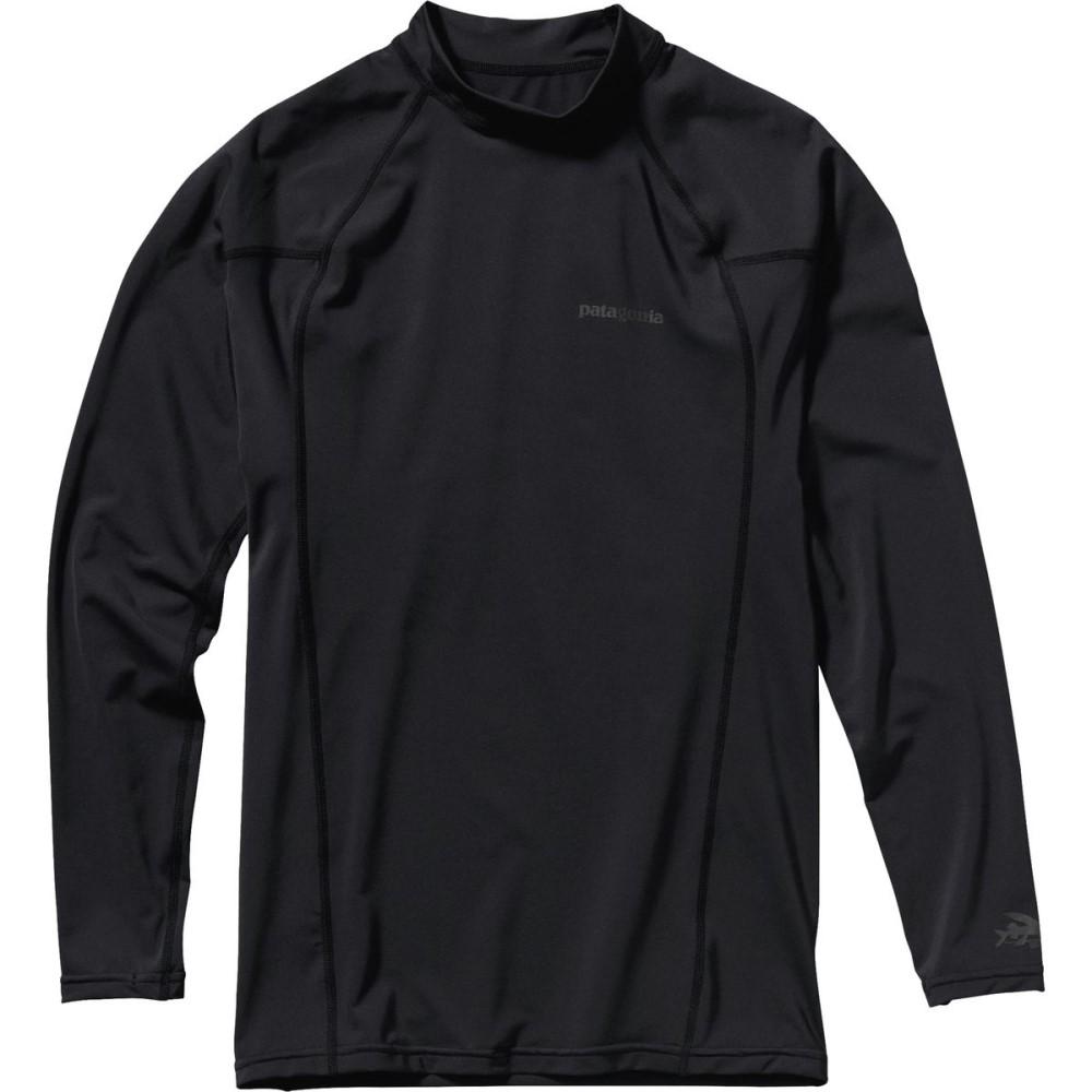 パタゴニア メンズ 水着・ビーチウェア ラッシュガード【R0 Long - Sleeve Rashguards】Black/Forge Grey