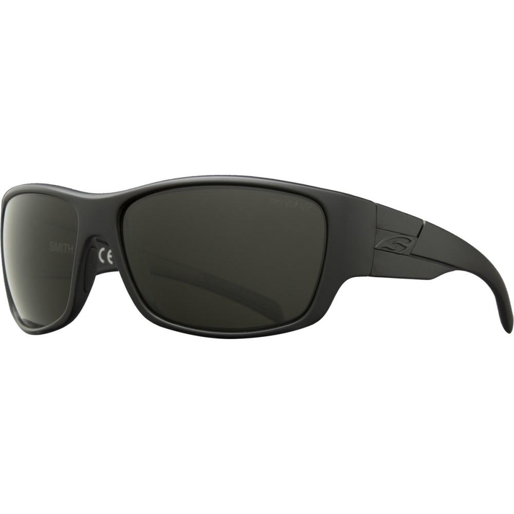 スミス メンズ スポーツサングラス【Frontman Elite ChromaPop Sunglasses - Polarized】Black/Gray Green