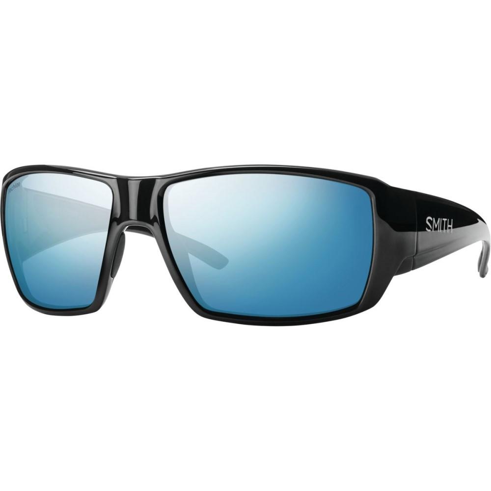スミス メンズ スポーツサングラス【Guides Choice Sunglasses - Polarized】Black/Blue Mirror