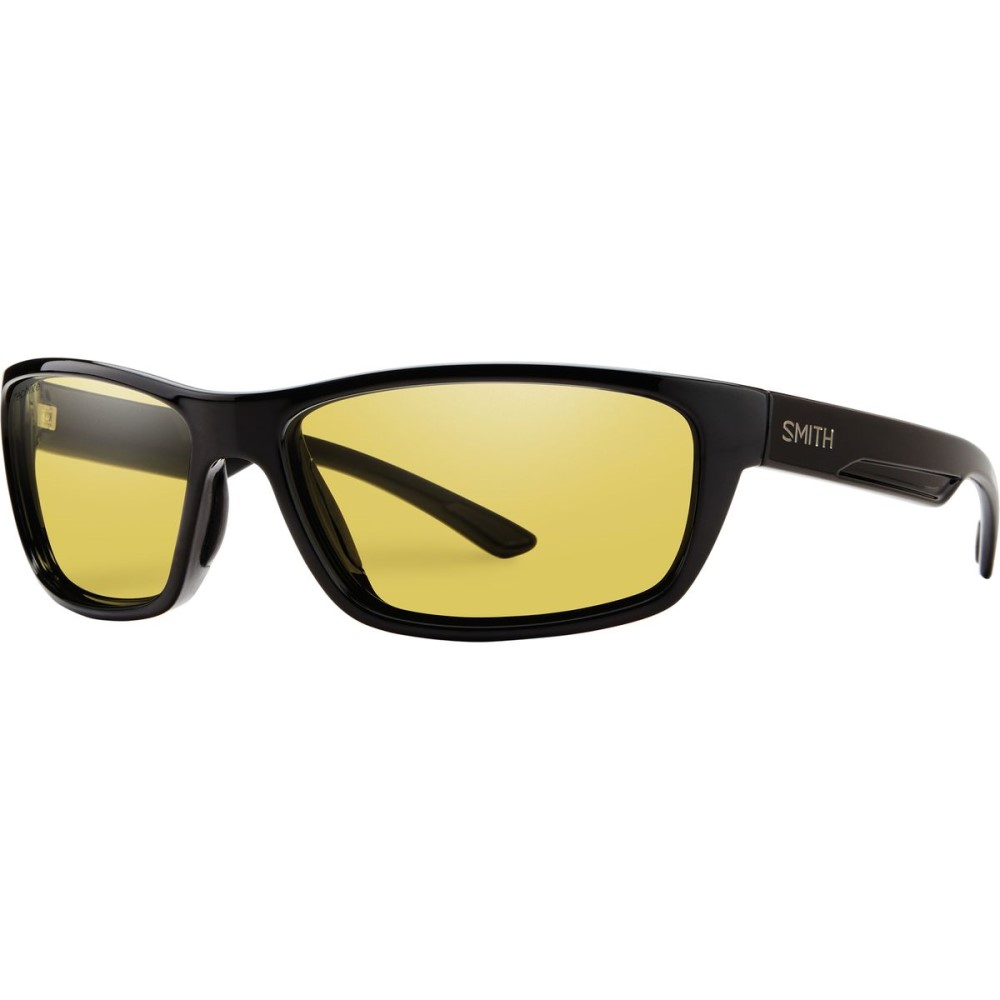 スミス メンズ スポーツサングラス【Ridgewell Sunglasses - Polarized】Black/Low Light Ignitor