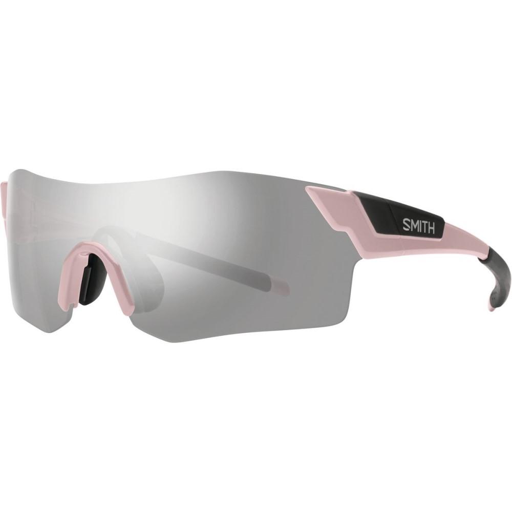 スミス レディース スポーツサングラス【Pivlock Arena ChromaPop Sunglasses】Dusty Pink/Platinum