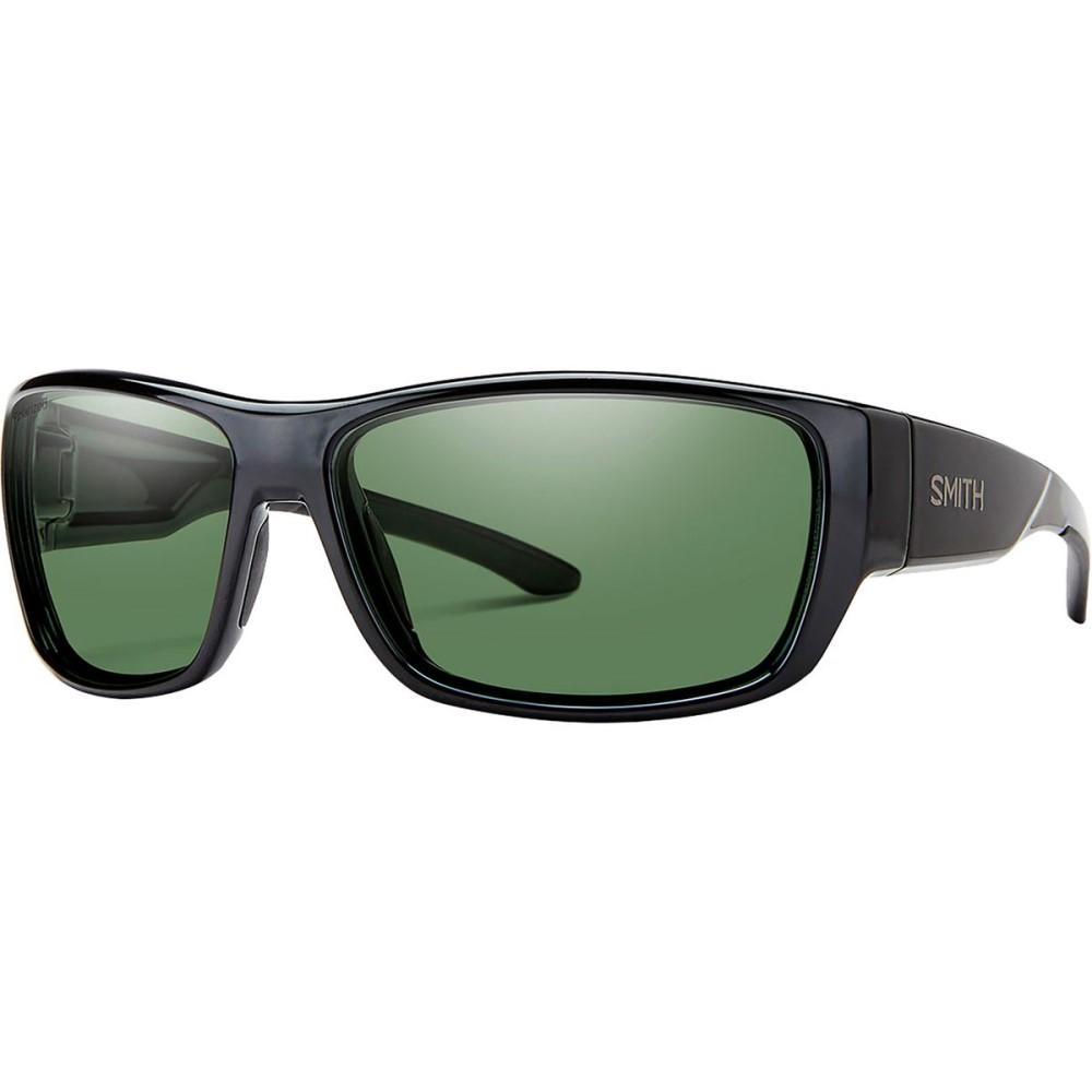 スミス メンズ スポーツサングラス【Forge Sunglasses - Polarized】Black/Polarized Gray Green