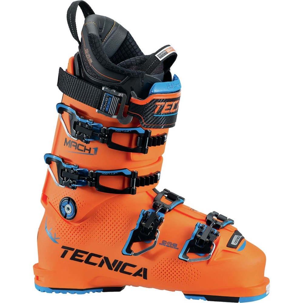 テクニカ メンズ スキー・スノーボード シューズ・靴【Mach1 130 LV Boots】Bright Orange/Black