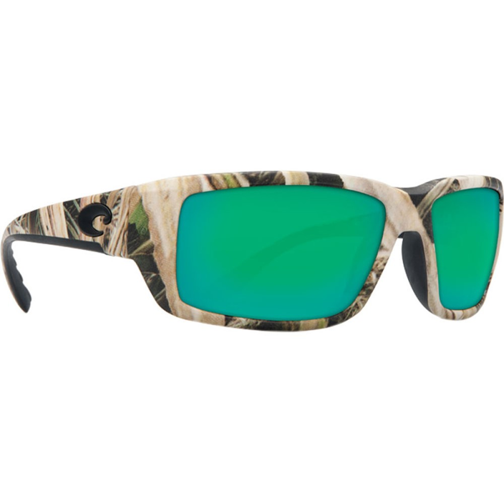 コスタ レディース スポーツサングラス【Fantail Mossy Oak Camo 580G Sunglasses - Polarized】Mossy Oak Shadow Grass Blades Camo/Copper