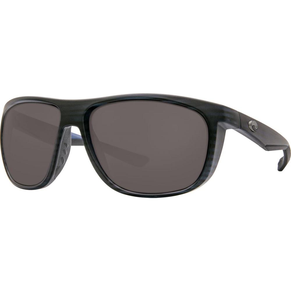 コスタ レディース メガネ・サングラス【Kiwa 580P Sunglasses - Polarized】Matte Black Teak Gray 580p