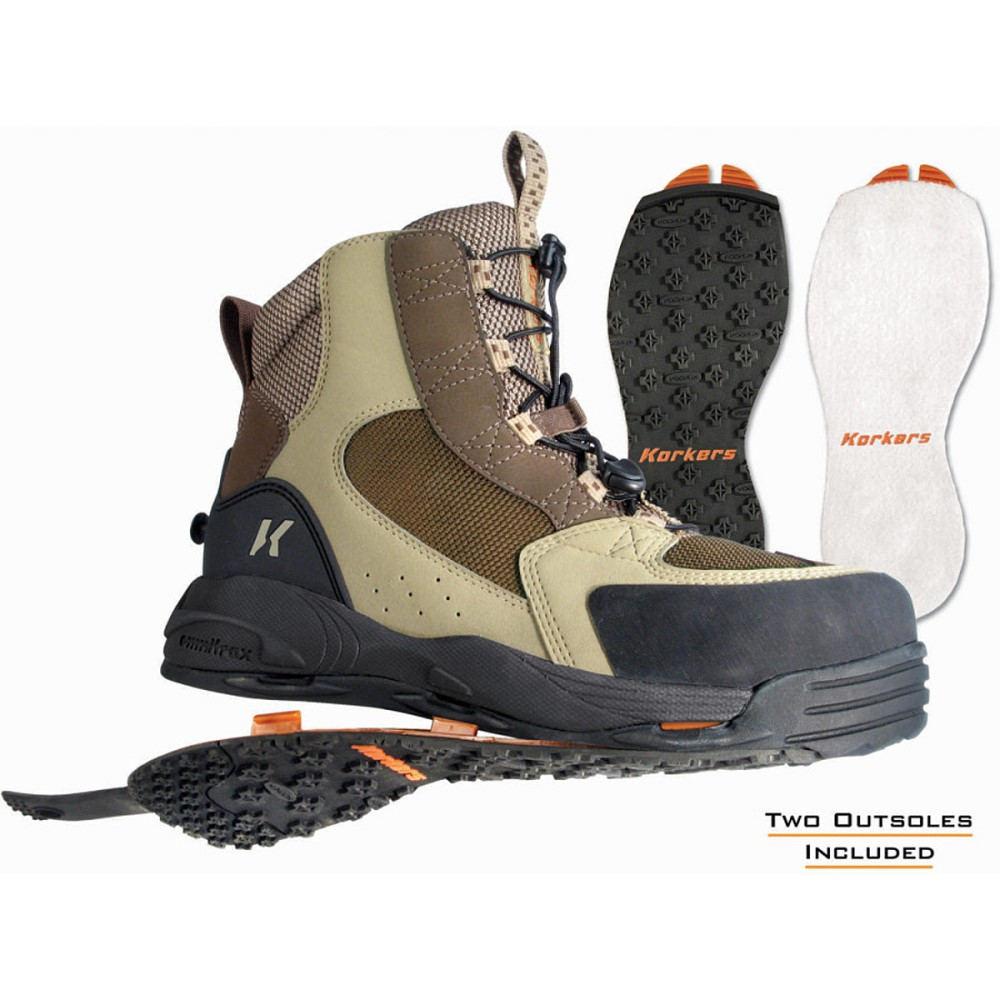 コーカーズ メンズ 釣り・フィッシング シューズ・靴【Redside Wading Boots】Felt and Kling-On Outsole
