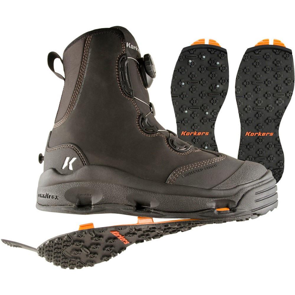 コーカーズ メンズ 釣り・フィッシング シューズ・靴【Devil's Canyon Wading Boots】Kling-On/Studded Kling-On Soles