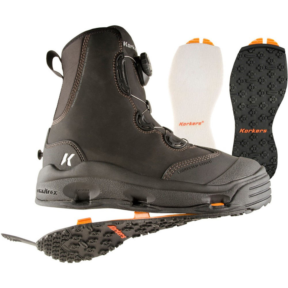 コーカーズ メンズ 釣り・フィッシング シューズ・靴【Devil's Canyon Wading Boots】Kling-On/Felt Soles