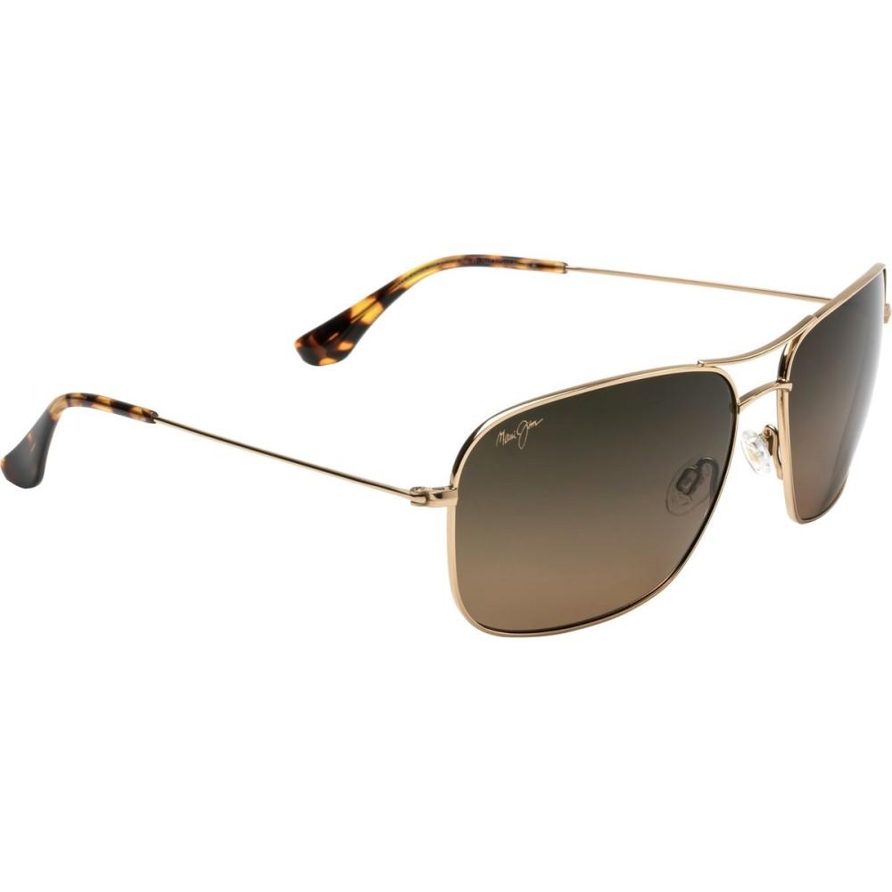マウイジム メンズ メガネ・サングラス【Breezeway Sunglasses - Polarized】Gold/Hcl Bronze