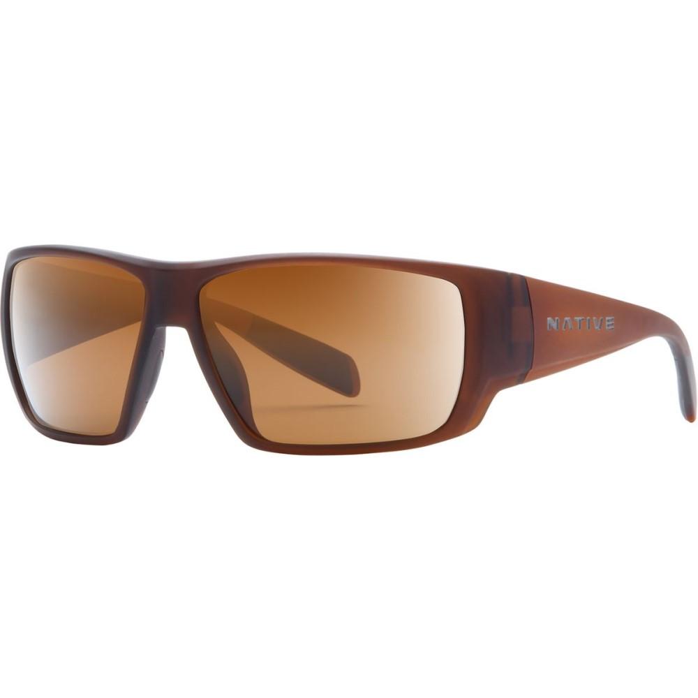 ネイティブアイウェア レディース メガネ・サングラス【Sightcaster Sunglasses - Polarized】Matte Brown Crystal/Brown