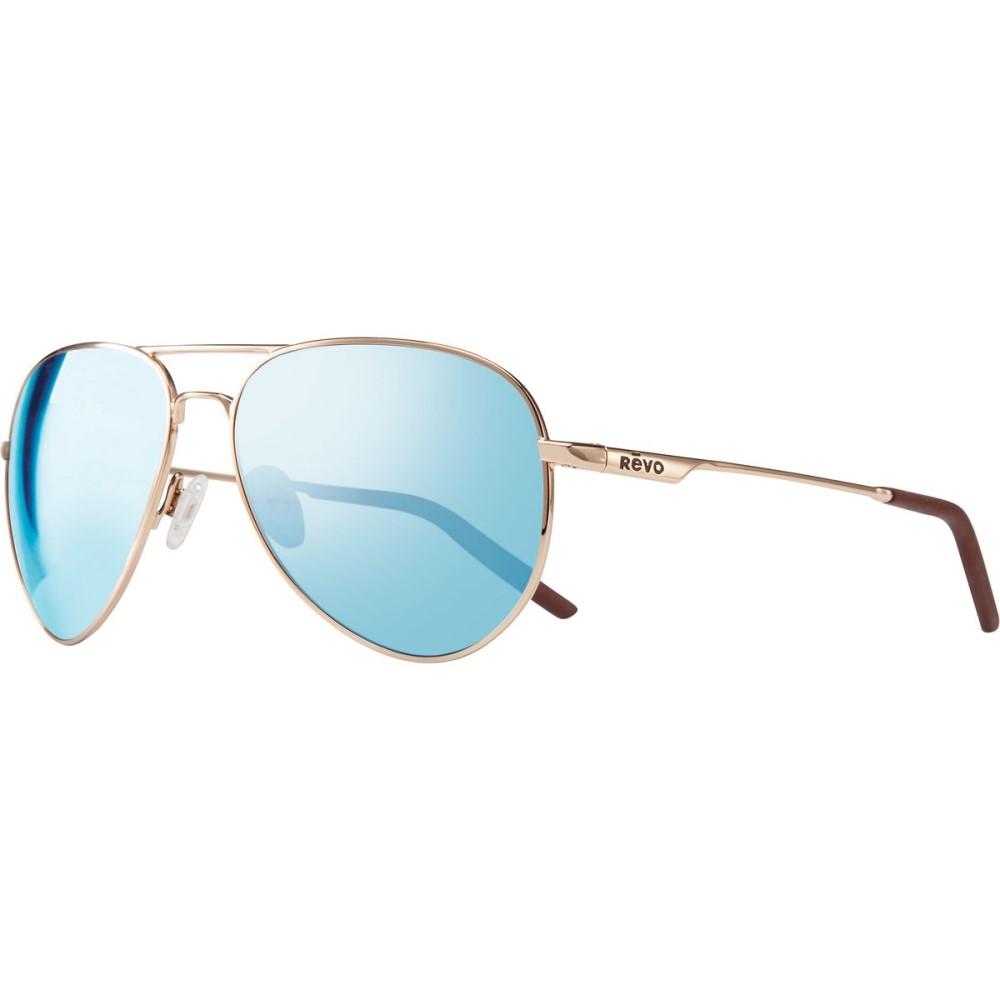 レヴォ レディース メガネ・サングラス【Observer Sunglasses - Polarized】Gold/Blue Water