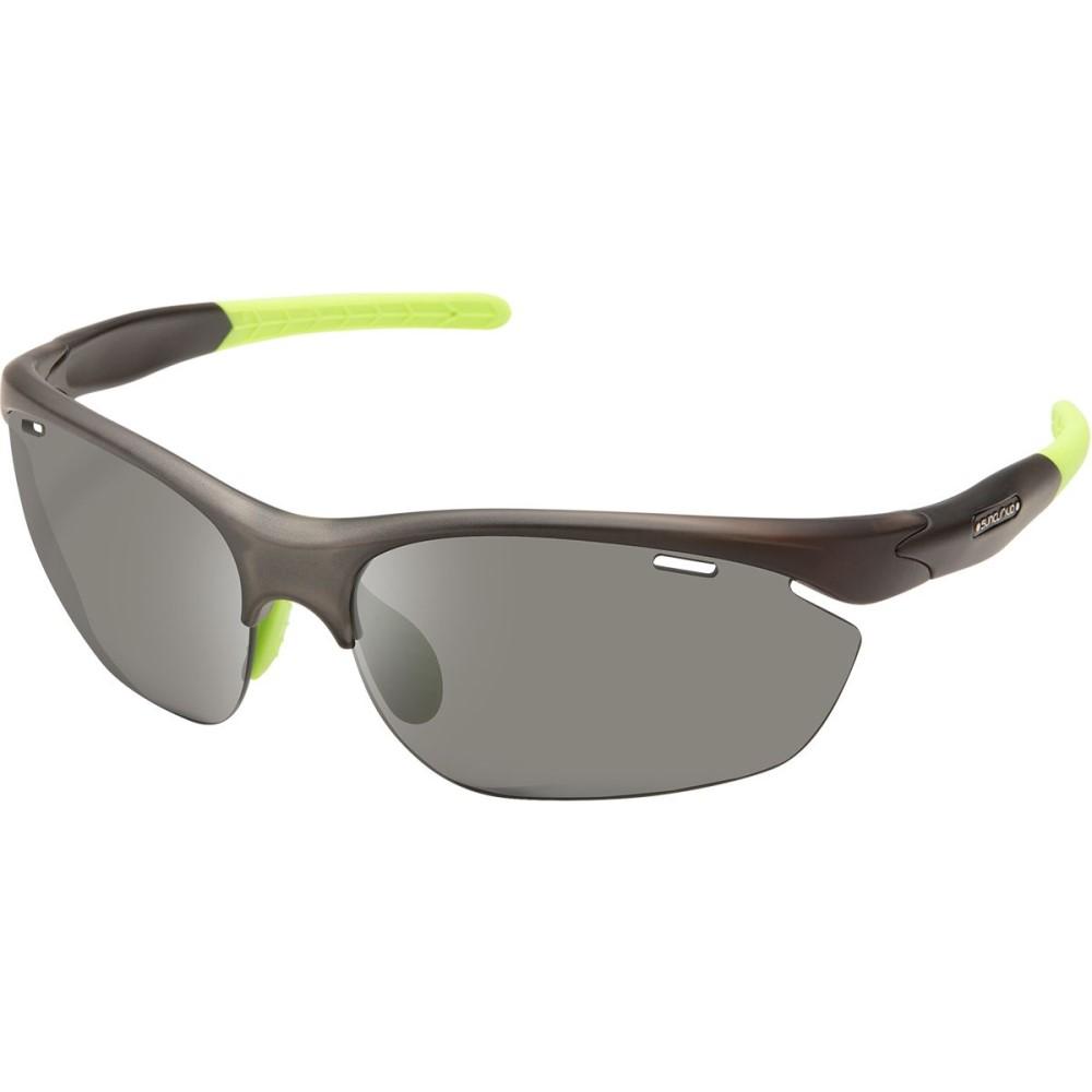 サンクラウド レディース スポーツサングラス【Portal Sunglasses - Polarized】Matte Smoke/Gray Polycarbonate/Contrast