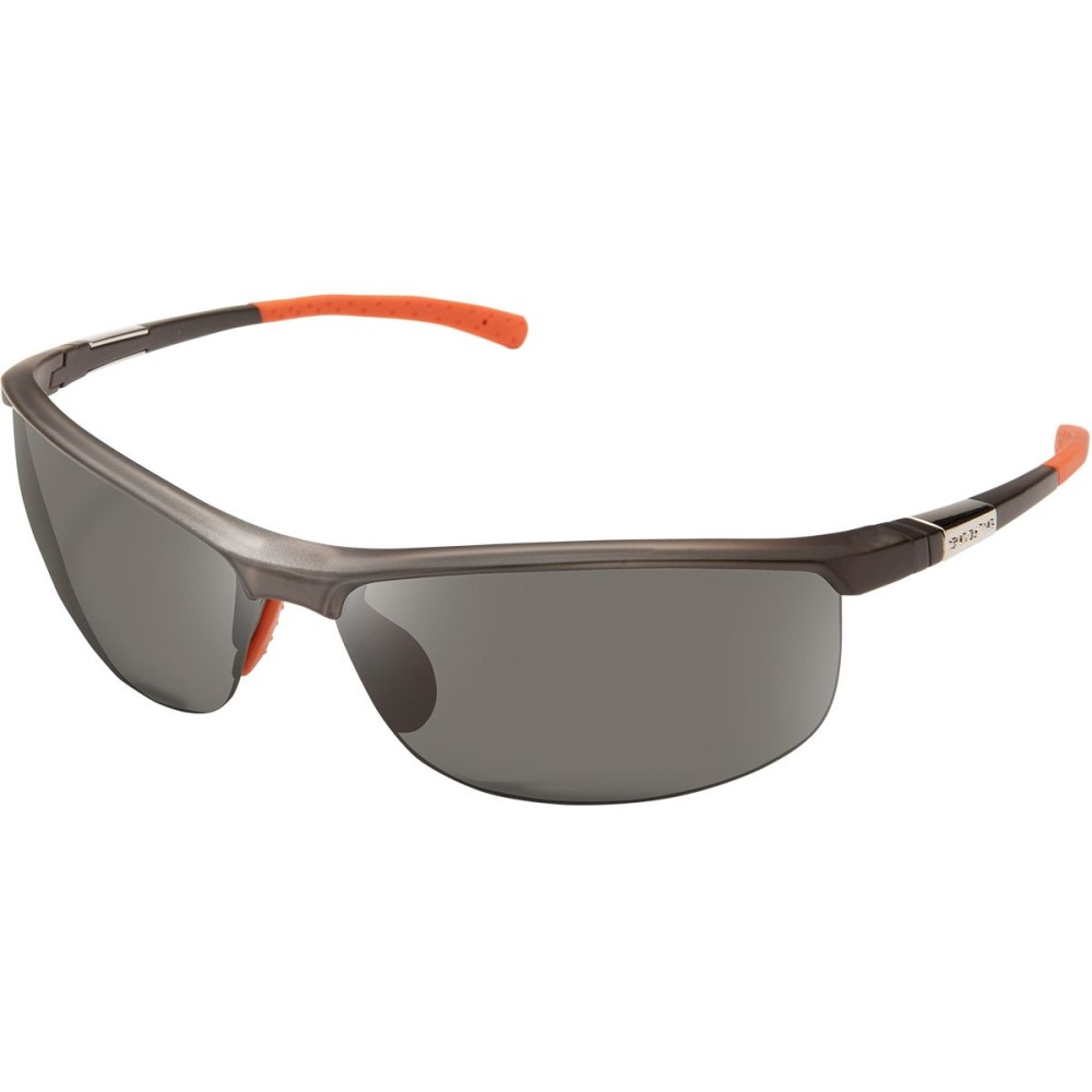 サンクラウド レディース スポーツサングラス【Tension Sunglasses - Polarized】Matte Smoke/Gray Polycarbonate/Contrast