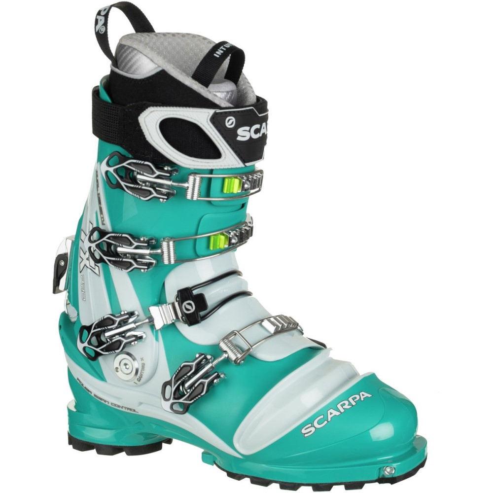超可爱 スカルパ レディース Blue スキー レディース・スノーボード シューズ スカルパ・靴【TX Pro Telemark Boot】Emerald/Ice Blue, 神恵内村:7f16798f --- hortafacil.dominiotemporario.com