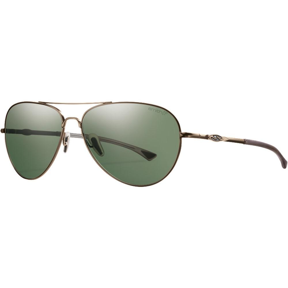 スミス メンズ メガネ・サングラス【Audible ChromaPop+ Sunglasses - Polarized】Matte Gold/Gray Green