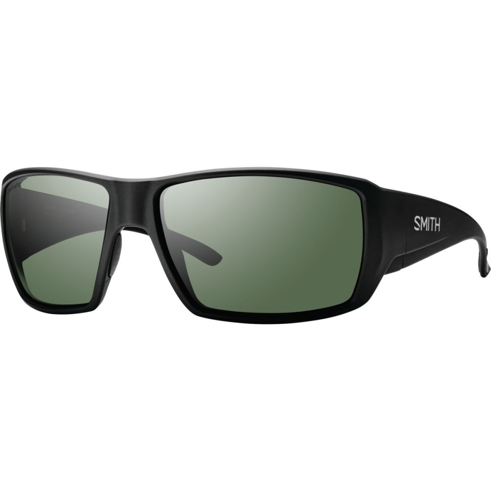 スミス メンズ スポーツサングラス【Guide's Choice Choice ChromaPop+ Green Sunglasses - - Polarized】Matte Black/Gray Green, ぐんまけん:bdaa1a0d --- jpworks.be