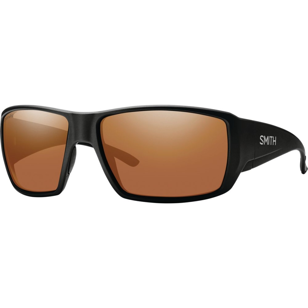 スミス メンズ スポーツサングラス【Guide's Choice ChromaPop Sunglasses - Polarized】Matte Black/Copper