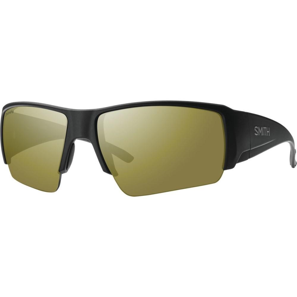 スミス メンズ メガネ・サングラス【Captains Choice ChromaPop+ Sunglasses - Polarized】Matte Black/Bronze Mirror