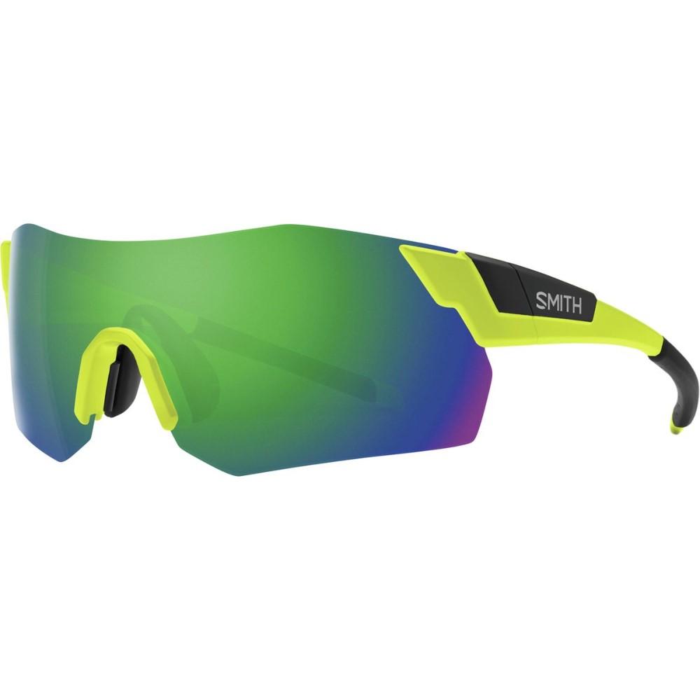 スミス レディース スポーツサングラス【Pivlock Arena Max ChromaPop Sunglasses】Matte Acid/Sun Green Mirror