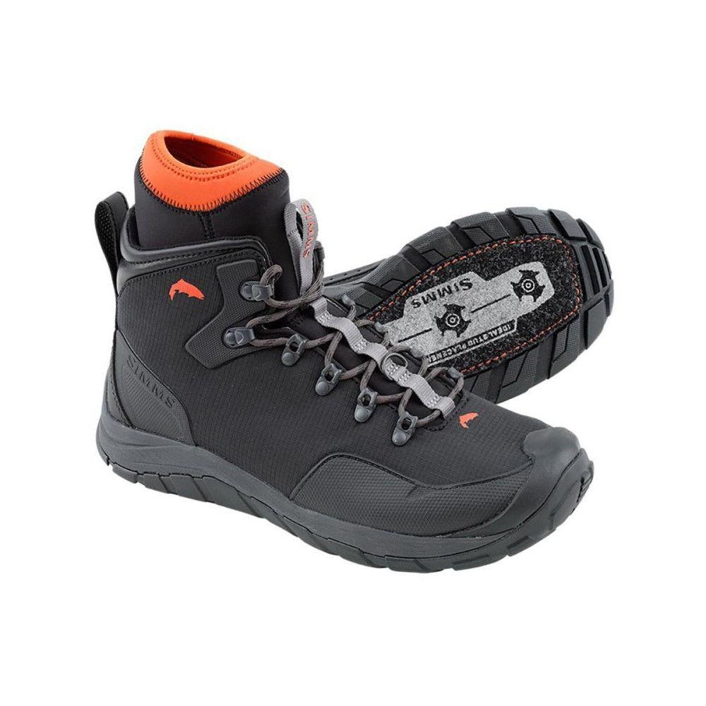 シムズ メンズ 釣り・フィッシング シューズ・靴【Intruder Felt Boots】Gunmetal