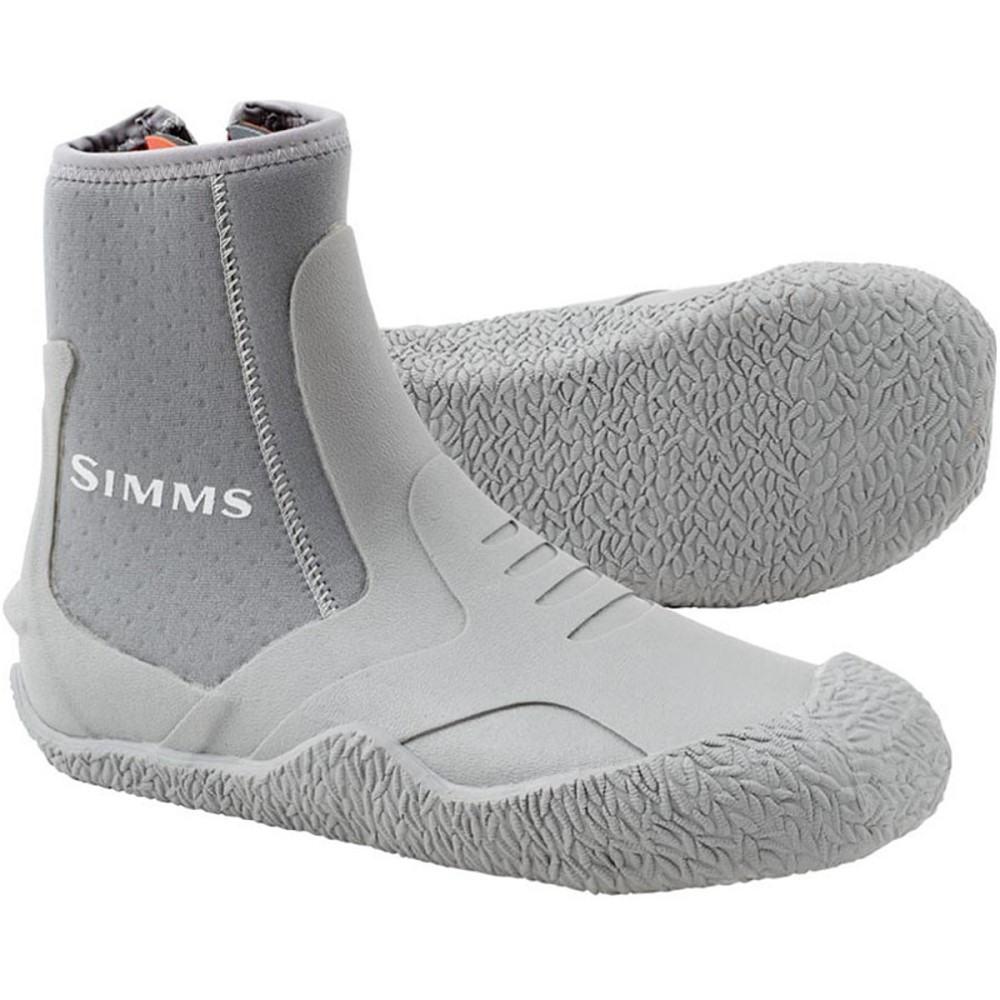 シムズ メンズ 釣り・フィッシング シューズ・靴【ZipIt II Booties】Light Grey