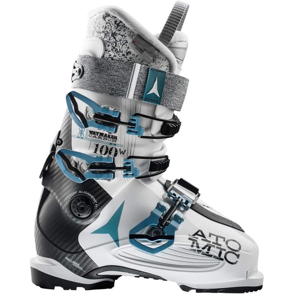 アトミック レディース スキー・スノーボード シューズ・靴【Waymaker Carbon 100 Ski Boot】White/Black/Denim