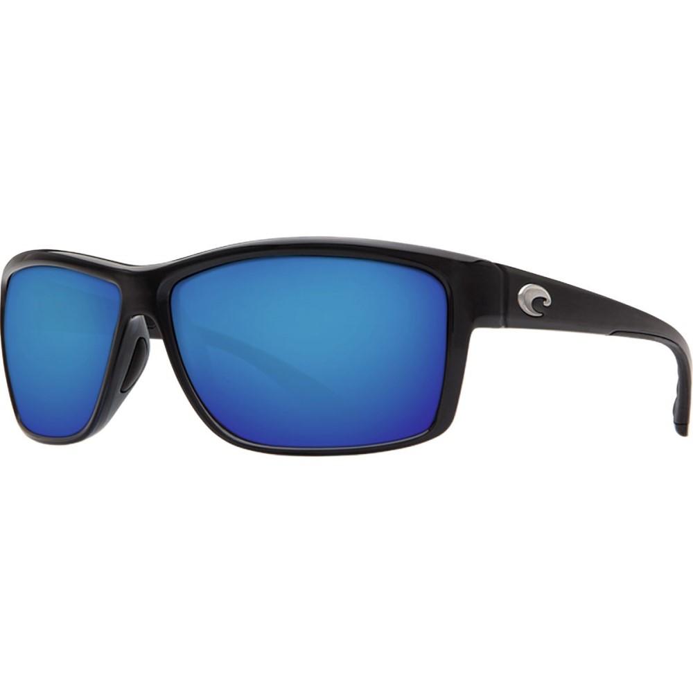 コスタ メンズ メガネ・サングラス【Mag Bay 580P Sunglasses - Polarized】Shiny Black Blue Mirror 580p