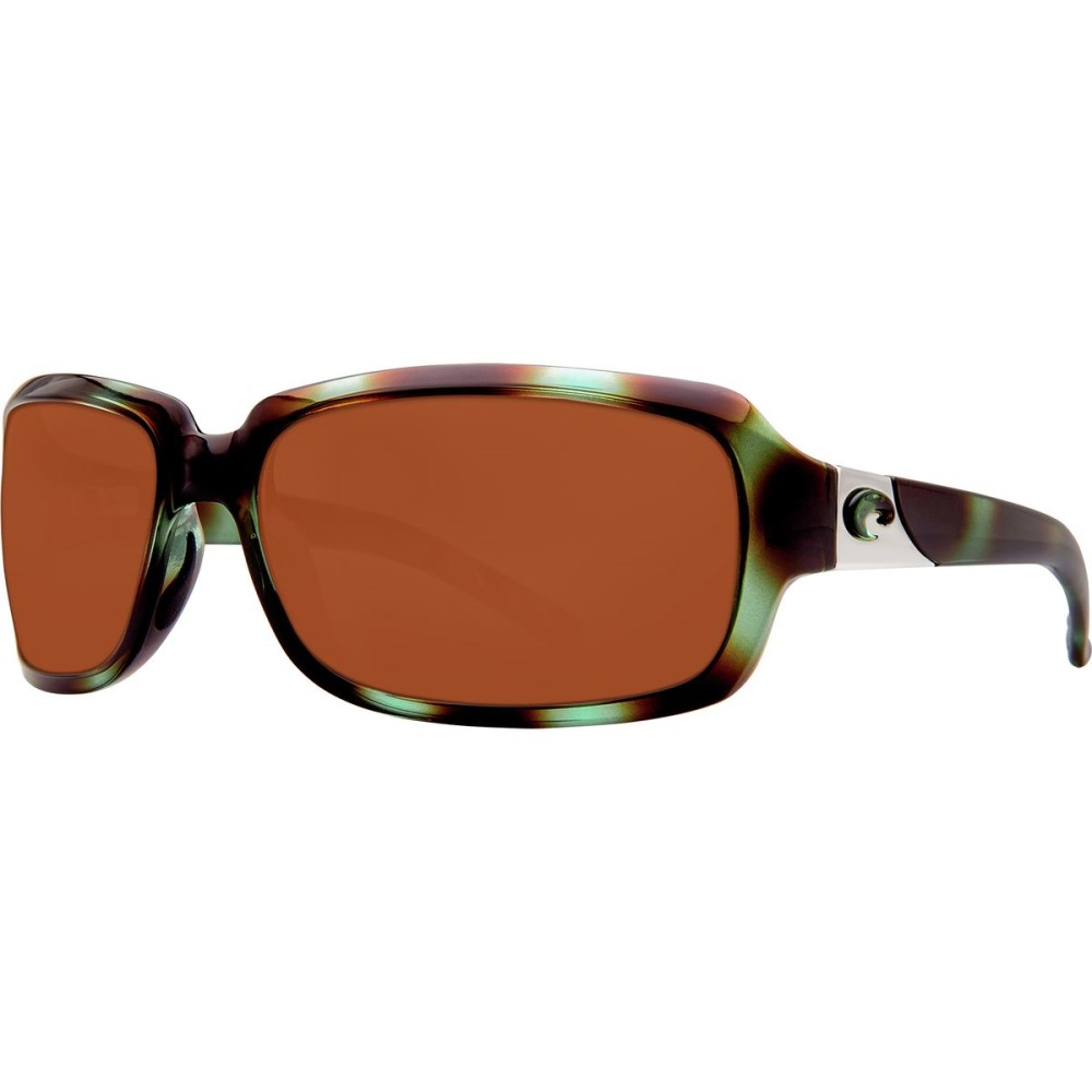 コスタ レディース スポーツサングラス【Isabela 580P Sunglasses - Polarized】Shiny Seagrass Copper 580p