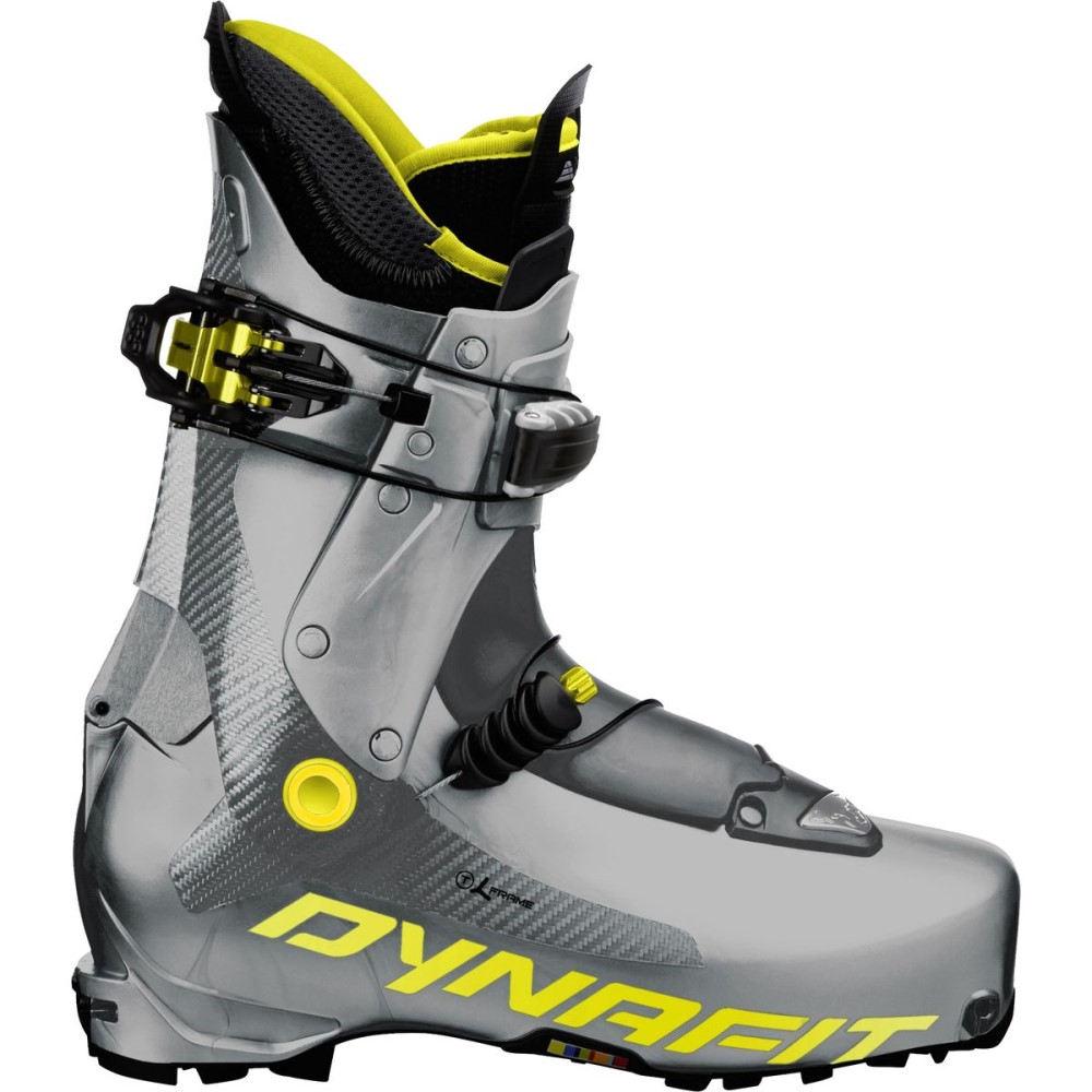 ダイナフィット メンズ スキー・スノーボード シューズ・靴【TLT7 Performance Ski Boot】Silver/Yellow