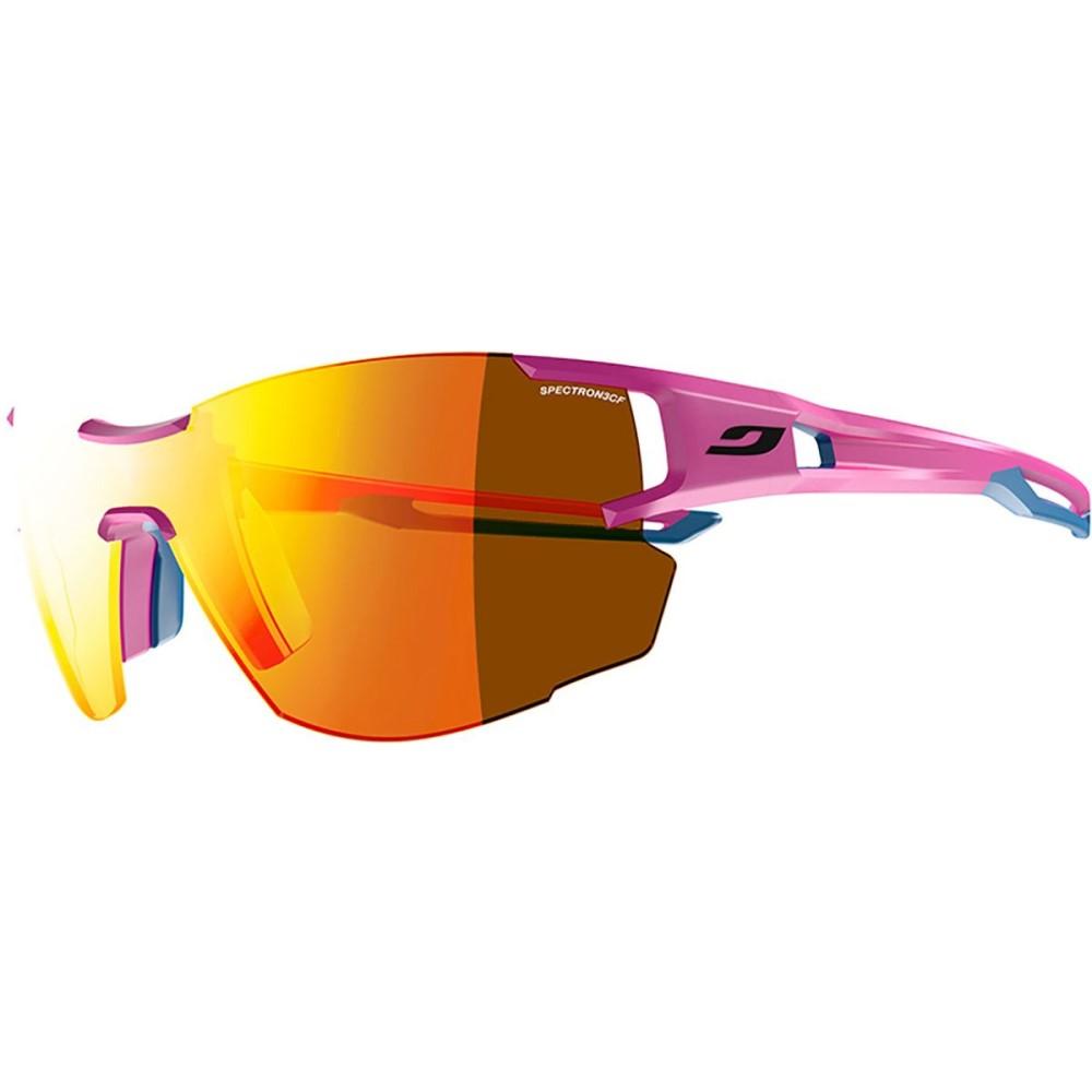 ジュルボ レディース スポーツサングラス【Aerolite Spectron 3 Sunglasses】Pink/Blue Cyan/Spectron 3cf