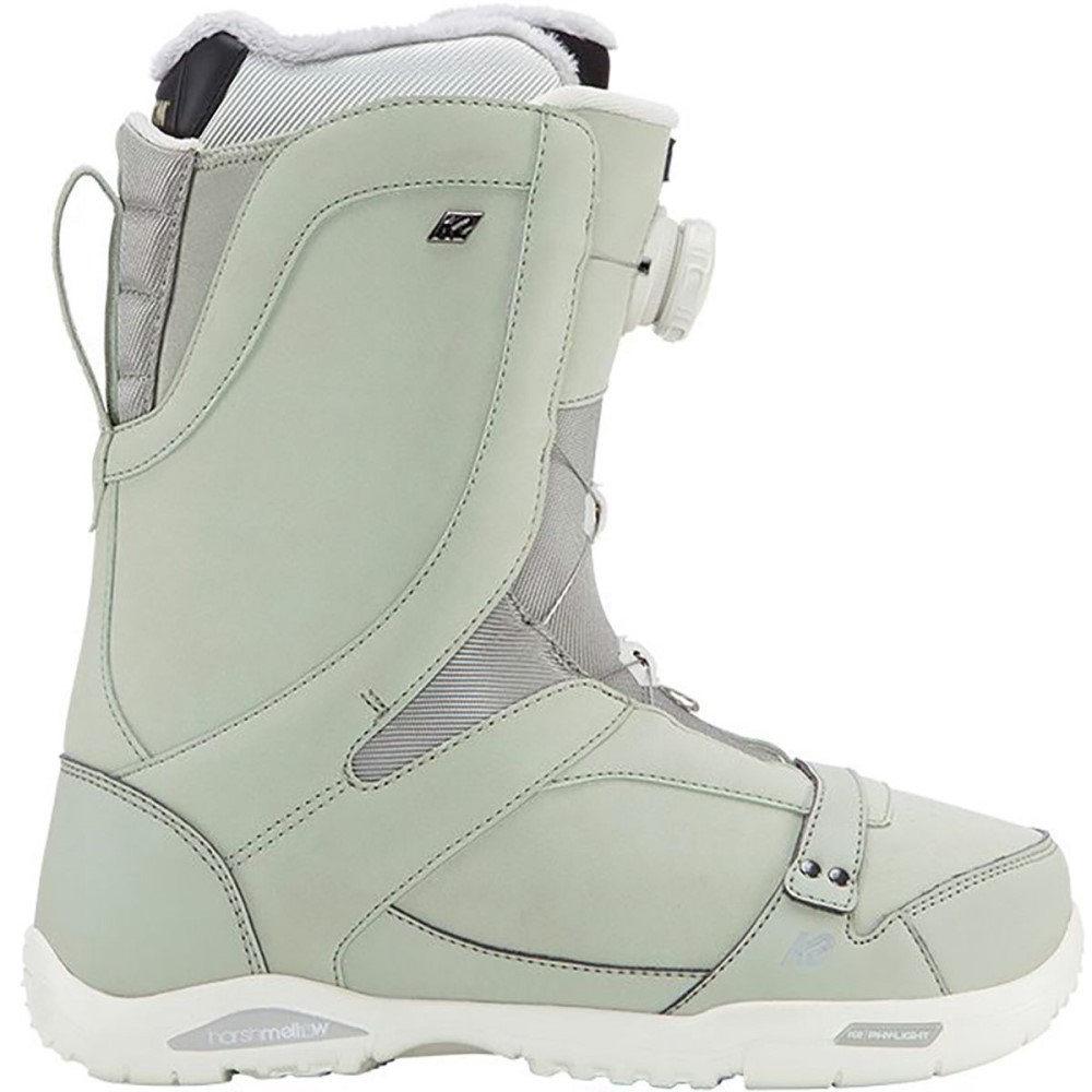 ケーツー レディース スキー・スノーボード シューズ・靴【Sapera Boa Snowboard Boot】Sage