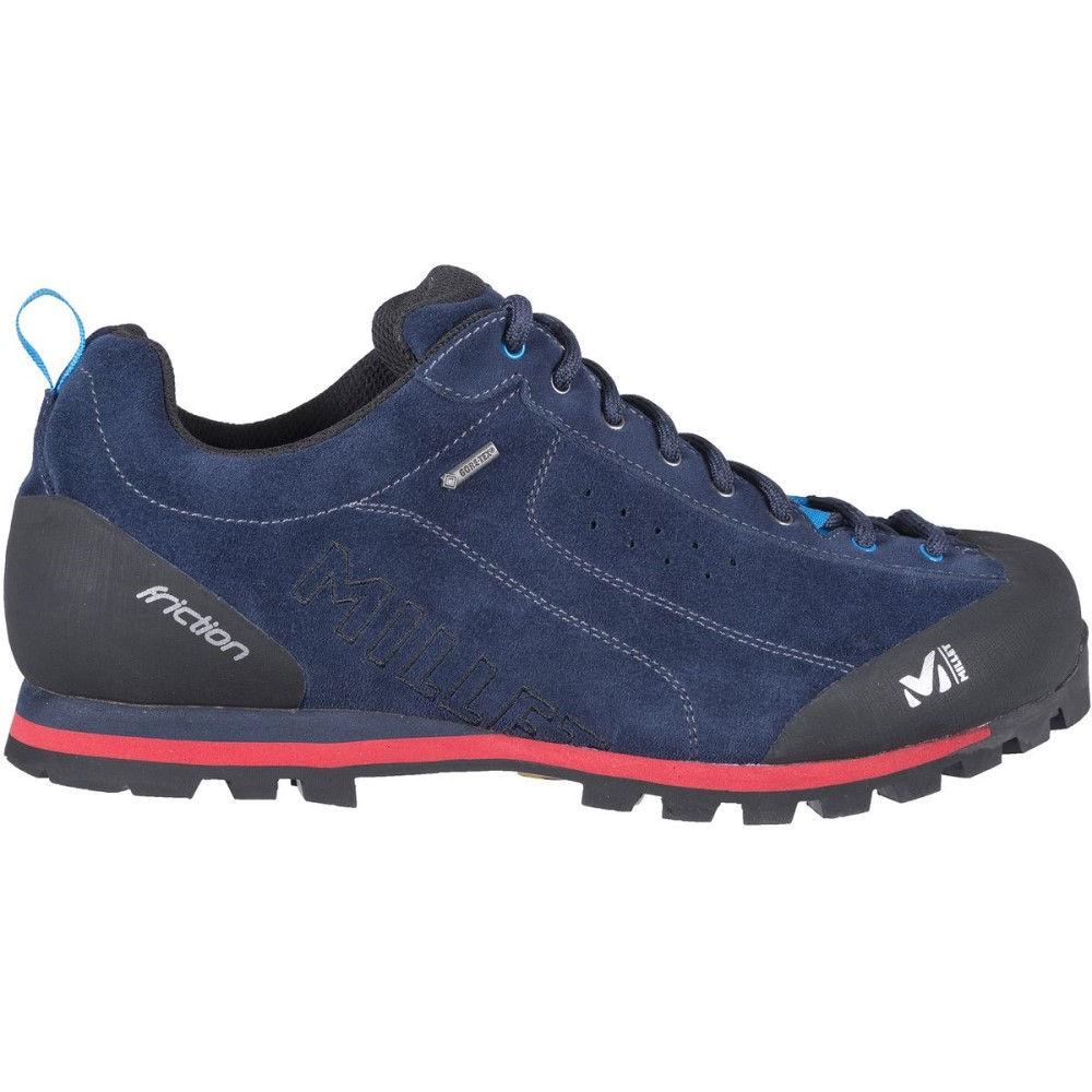 ミレー メンズ ハイキング・登山 シューズ・靴【Friction GTX Approach Shoes】Saphir/Rouge