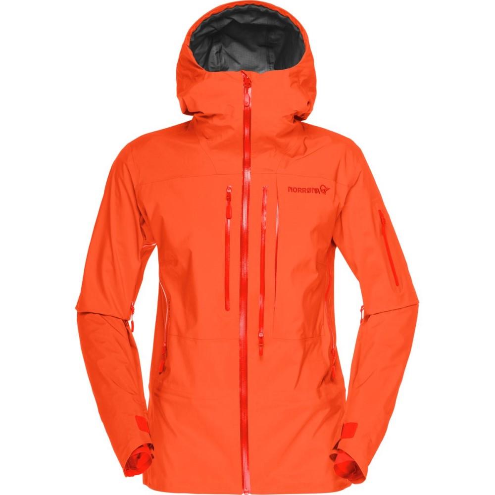 ノローナ レディース スキー・スノーボード アウター【Lofoten Gore - Tex Pro Jacket】Orange Alert