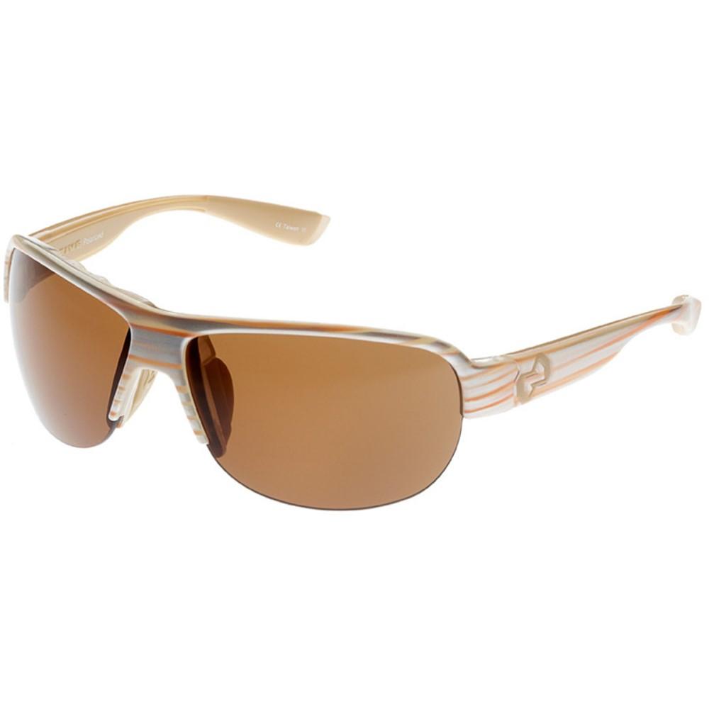 【祝開店!大放出セール開催中】 ネイティブアイウェア レディース スポーツサングラス【Zodiac Sunglasses - Polarized】Pearl Swirl/Brown, キノサキチョウ 93c23e80