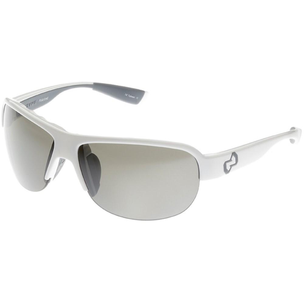 ネイティブアイウェア レディース スポーツサングラス【Zodiac Sunglasses - Polarized】Snow/Silver Reflex