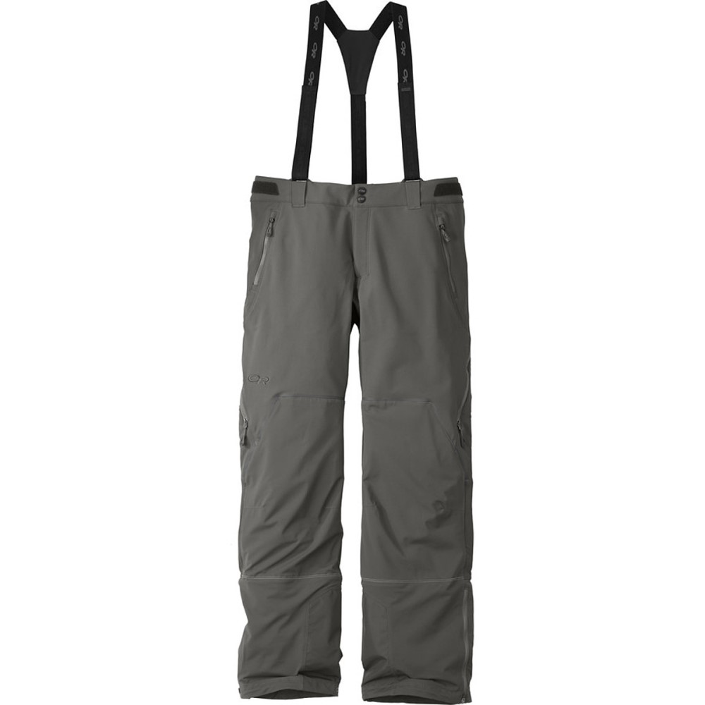 アウトドアリサーチ メンズ スキー・スノーボード ボトムス・パンツ【Trailbreaker Softshell Pants】Pewter